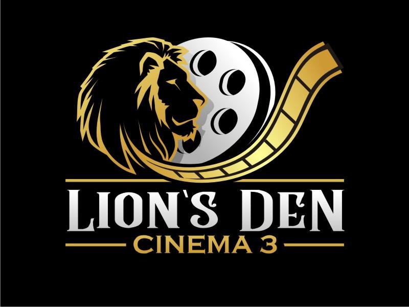 Lion's Den Cinema 3 logo design by haze