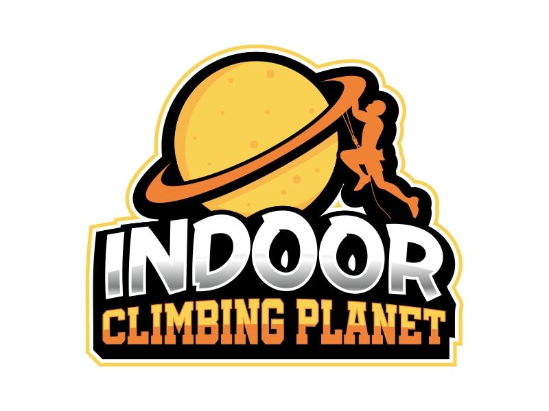 Indoor Climbing Planet logo design by Ryan Prapta Putra