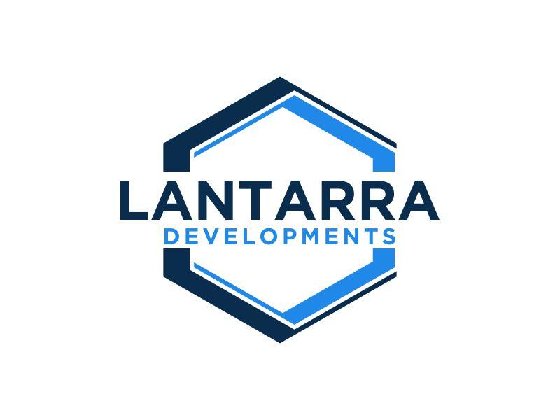 Lantarra Developments logo design by MUNAROH