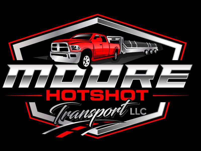 Moore Hotshot Transport LLC logo design by jaize