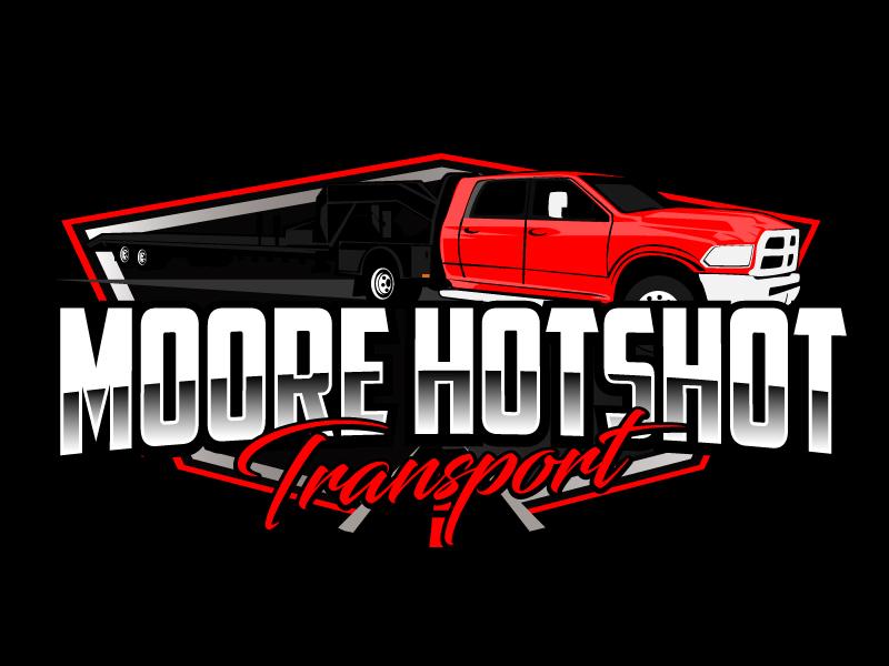 Moore Hotshot Transport LLC logo design by ElonStark
