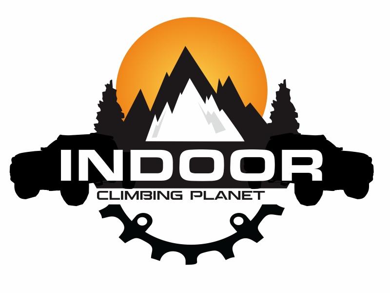 Indoor Climbing Planet logo design by Greenlight