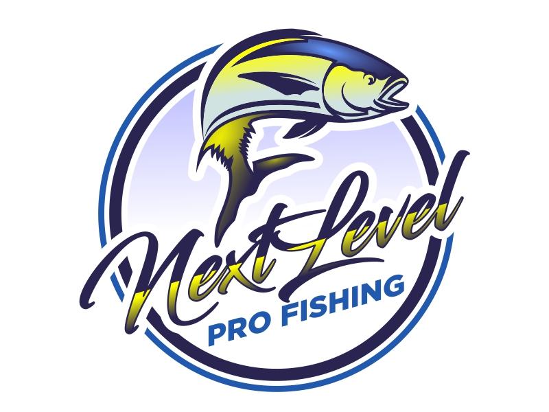 NEXT LEVEL PRO FISHING logo design by cintoko