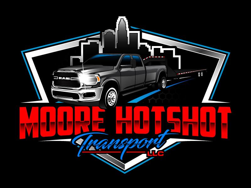 Moore Hotshot Transport LLC logo design by daywalker