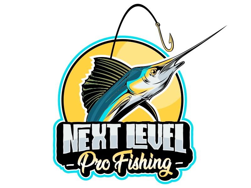NEXT LEVEL PRO FISHING logo design by Ryan Prapta Putra