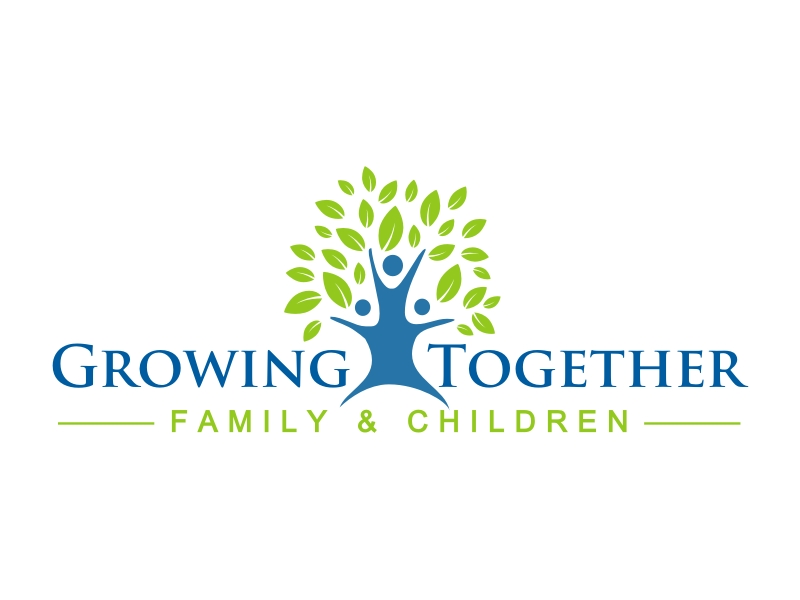 Growing Together Family & Children logo design by coco