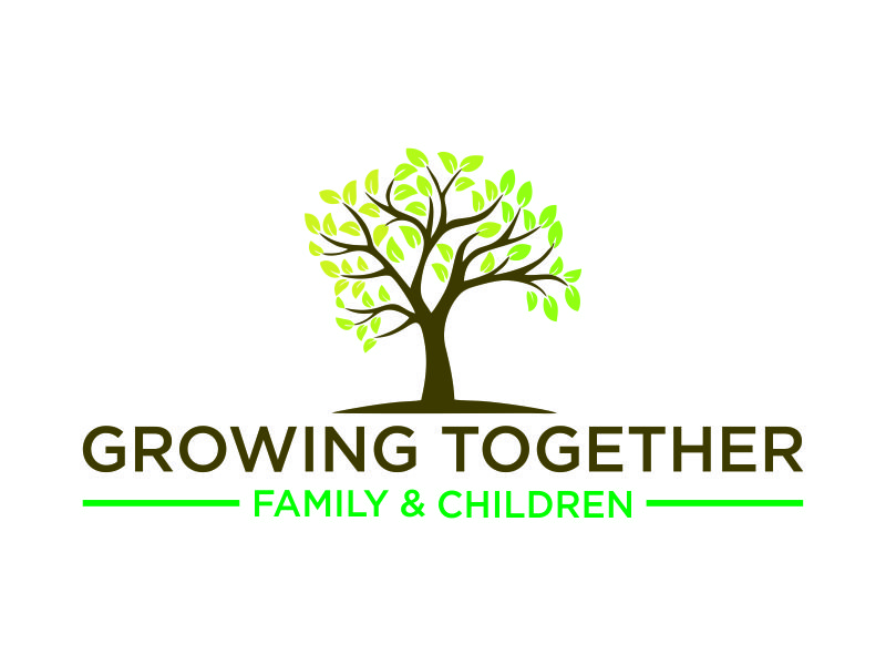 Growing Together Family & Children logo design by BagasFerdiansah