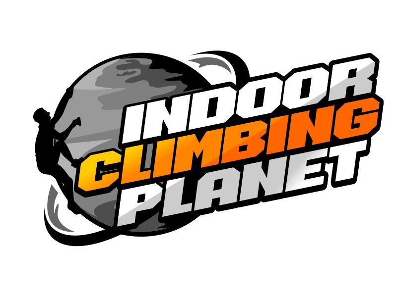 Indoor Climbing Planet logo design by veron