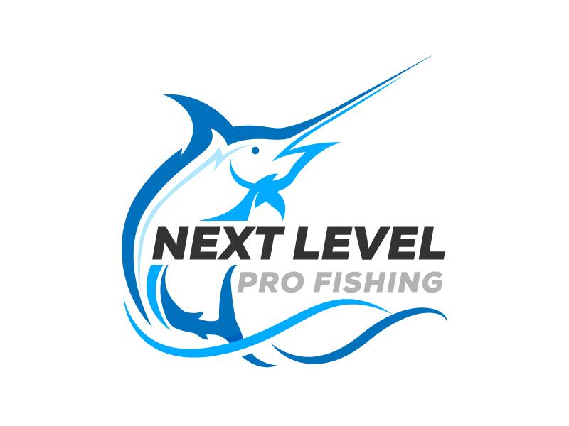 NEXT LEVEL PRO FISHING logo design by Webphixo