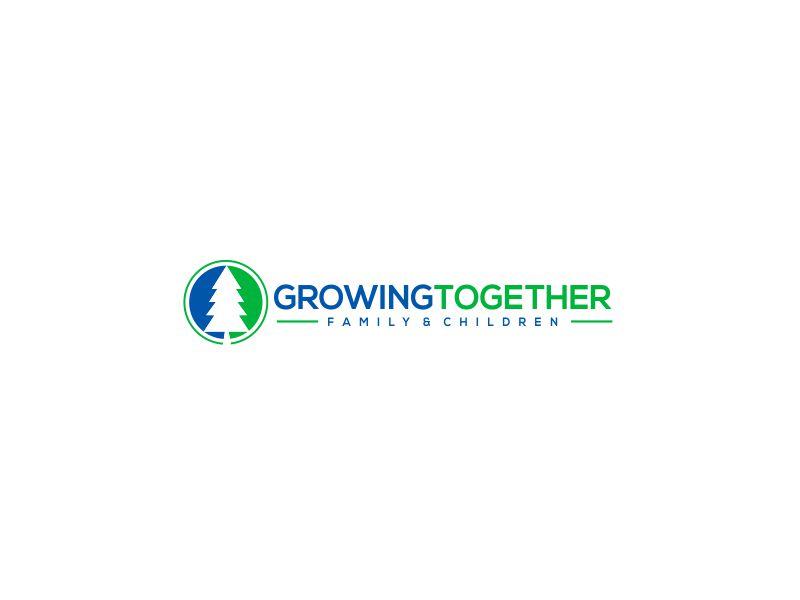 Growing Together Family & Children logo design by kimora