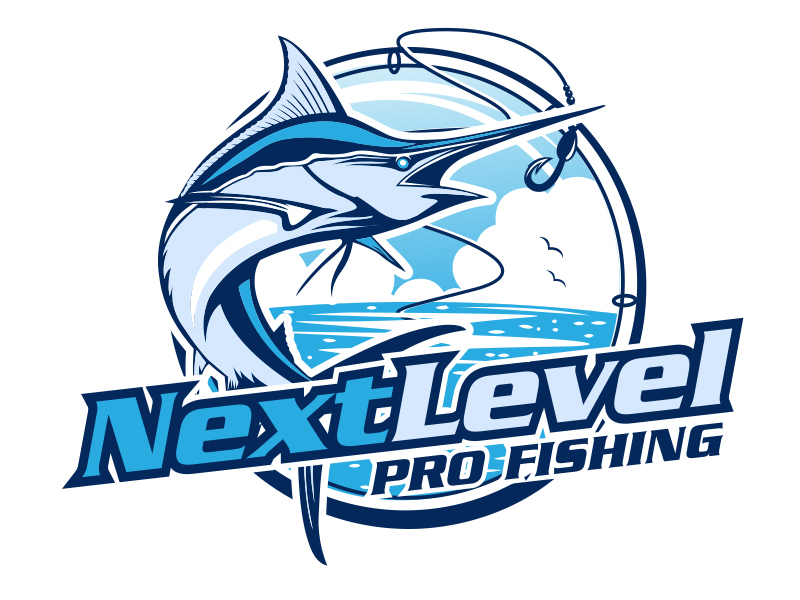 NEXT LEVEL PRO FISHING logo design by scriotx