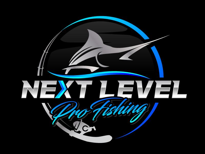 NEXT LEVEL PRO FISHING logo design by jaize