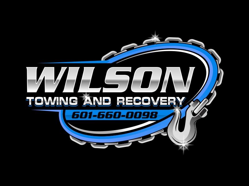 Wilson Towing & Recovery LLC logo design by rizuki