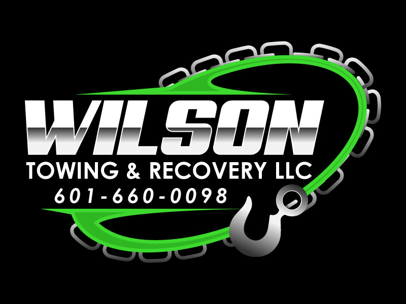 Wilson Towing & Recovery LLC logo design by aryamaity