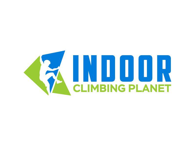 Indoor Climbing Planet logo design by Gwerth