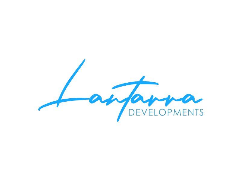 Lantarra Developments logo design by giphone