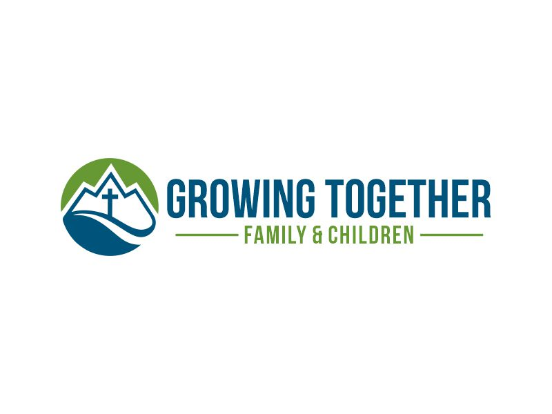 Growing Together Family & Children logo design by Gwerth