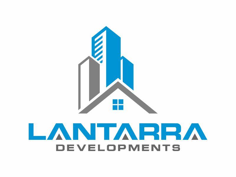 Lantarra Developments logo design by zonpipo1