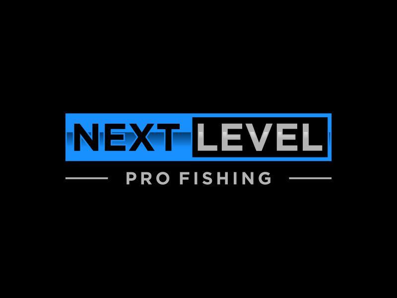 NEXT LEVEL PRO FISHING logo design by Rhiezone