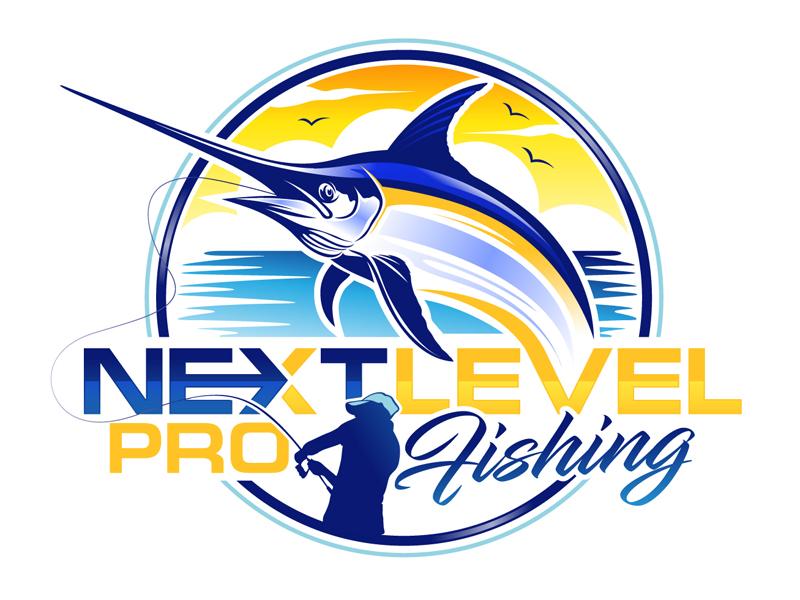 NEXT LEVEL PRO FISHING logo design by DreamLogoDesign