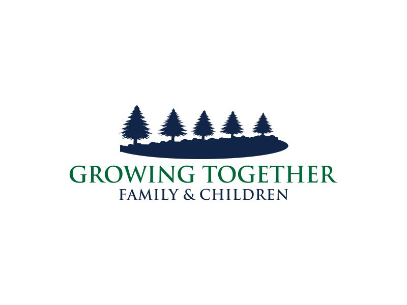 Growing Together Family & Children logo design by MUNAROH