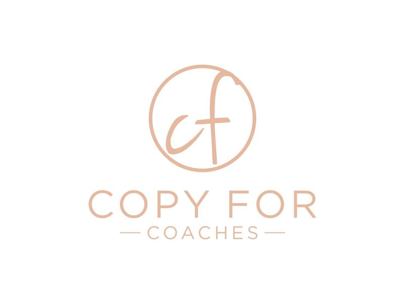 Copy for Coaches logo design by haidar