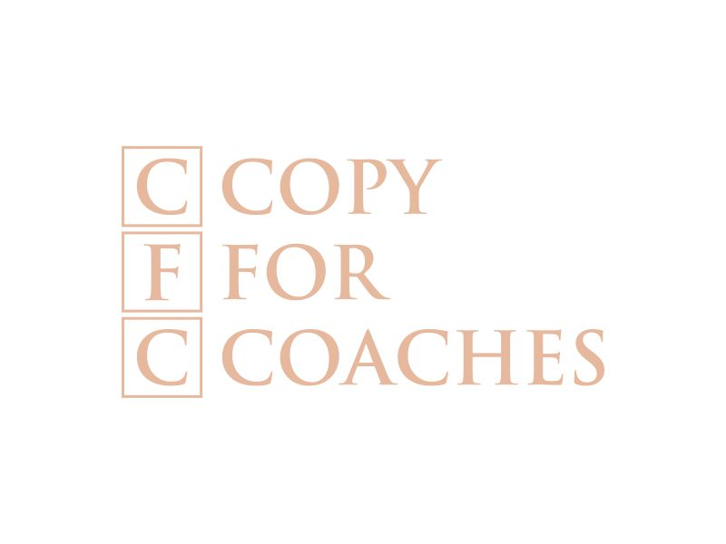 Copy for Coaches logo design by mukleyRx