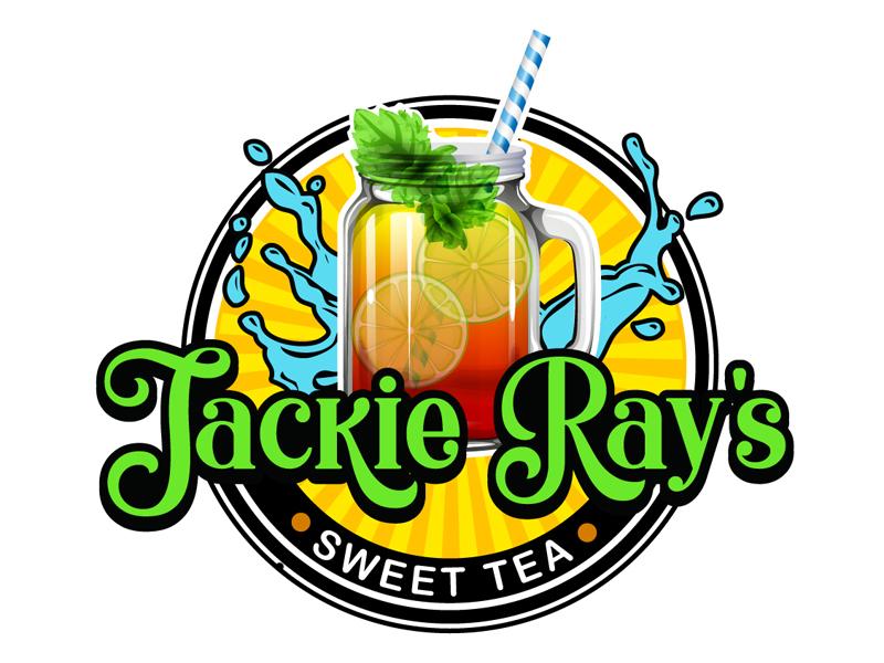 Jackie Ray's Sweet Tea Logo Design