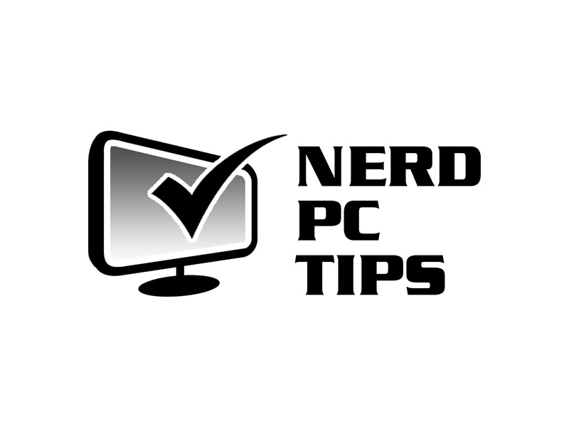 Nerd PC Tips logo design by Bananalicious