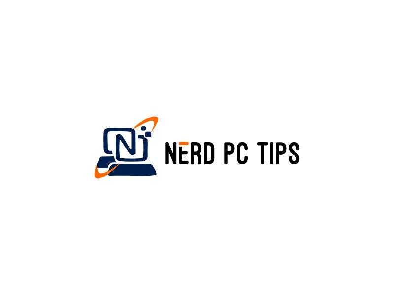 Nerd PC Tips logo design by dollarpush