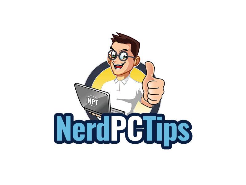 Nerd PC Tips logo design by kunejo