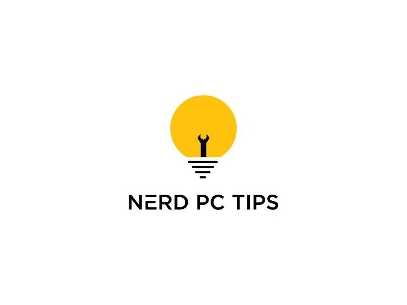 Nerd PC Tips logo design by bomie