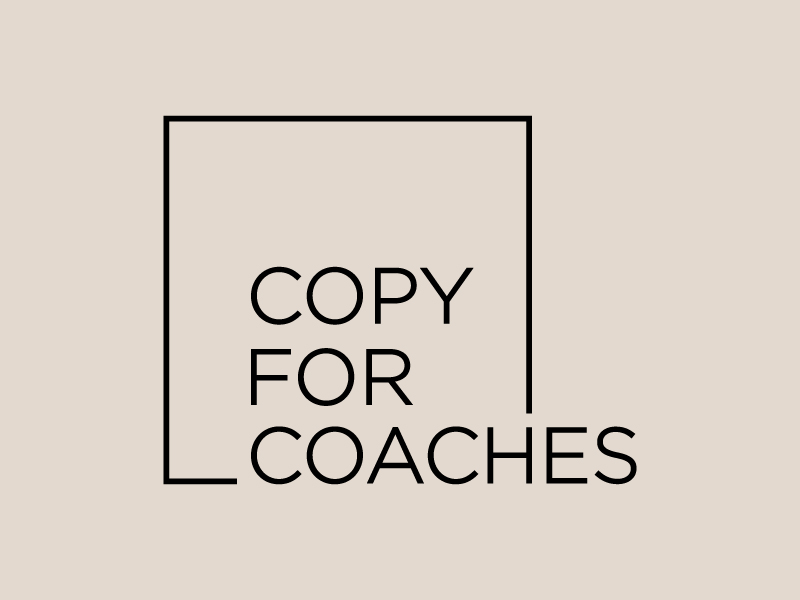 Copy for Coaches logo design by BrainStorming