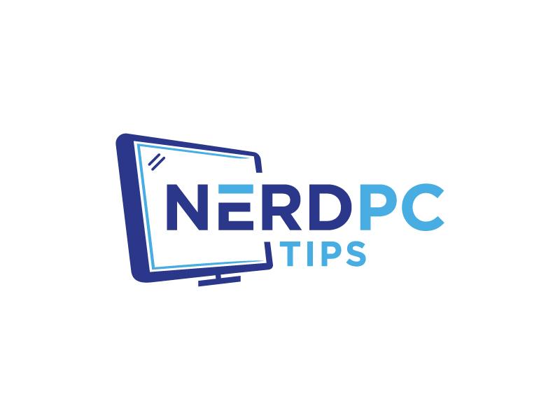 Nerd PC Tips logo design by akilis13