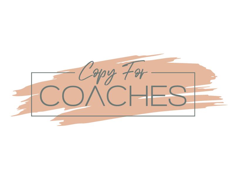 Copy for Coaches logo design by jaize