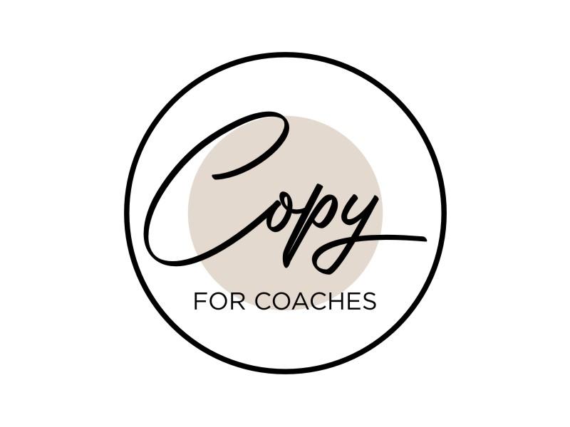 Copy for Coaches logo design by lintinganarto