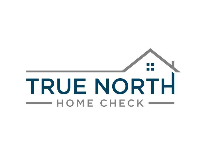 True North Home Check Logo Design