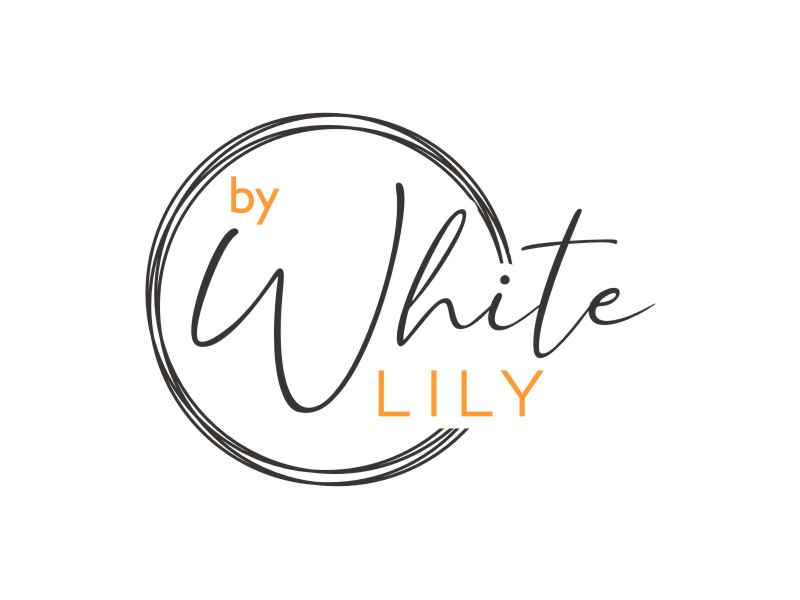 White Lily Logo Design
