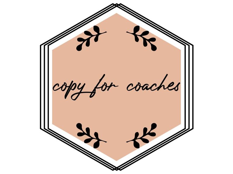 Copy for Coaches logo design by JessicaLopes