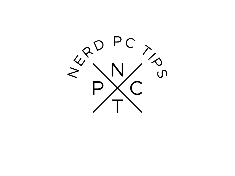Nerd PC Tips logo design by Mezzala