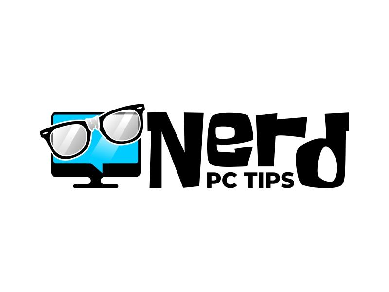 Nerd PC Tips logo design by ekitessar
