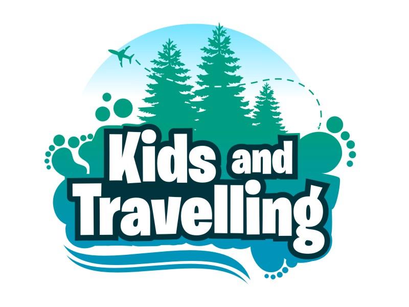 Kids and Travelling Logo Design