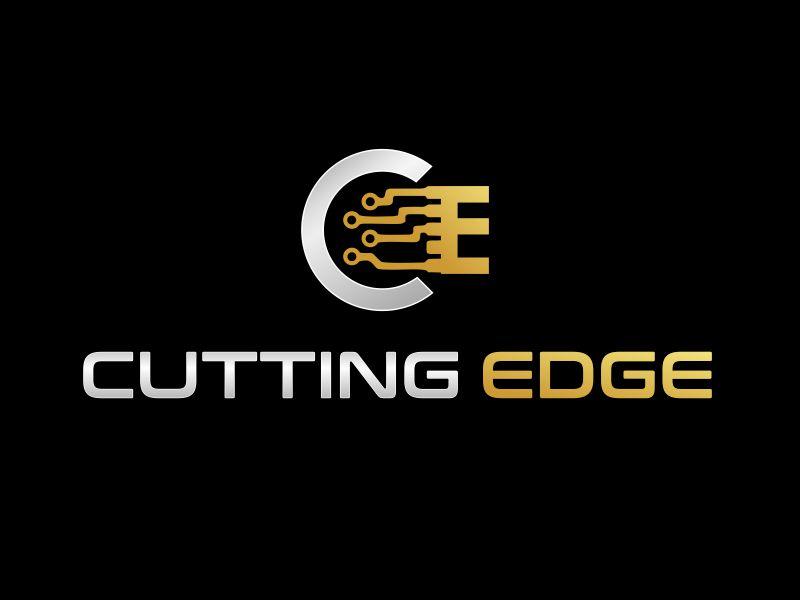 Cutting Edge logo design by YONK
