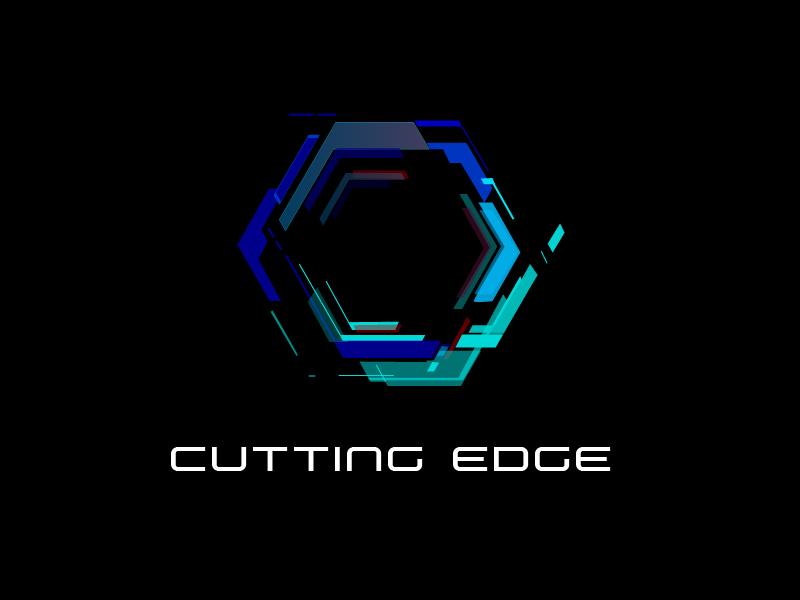 Cutting Edge logo design by AnuragYadav