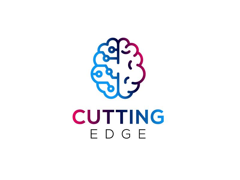 Cutting Edge logo design by Sami Ur Rab