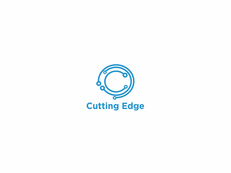 Cutting Edge logo design by Greenlight