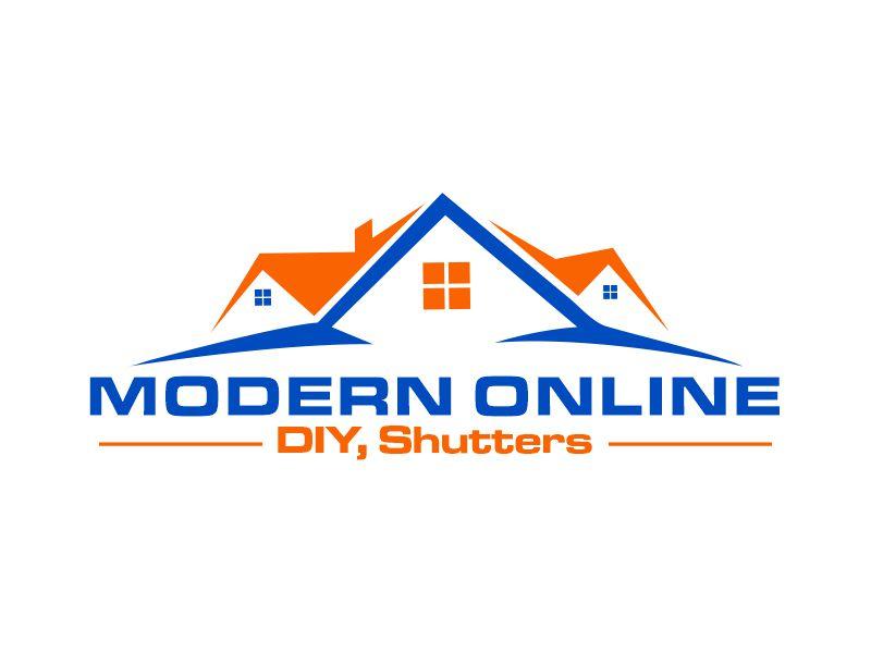Modern Online logo design by Gwerth
