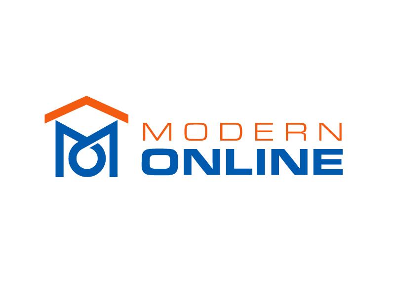 Modern Online logo design by PRN123