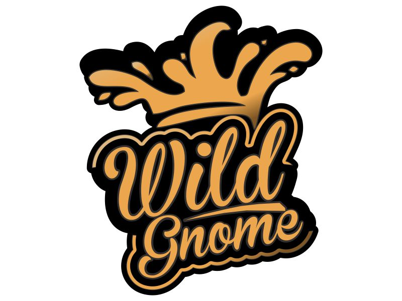 Wild Gnome logo design by MUNAROH