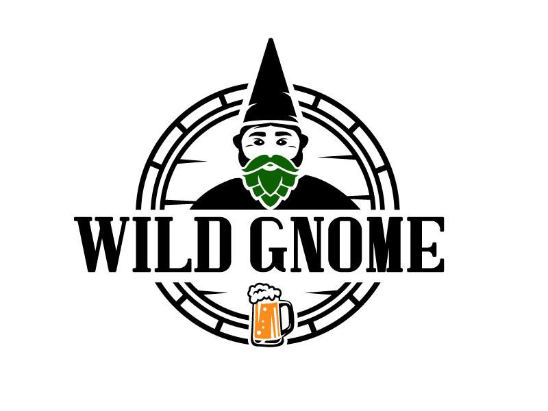 Wild Gnome logo design by Foxcody